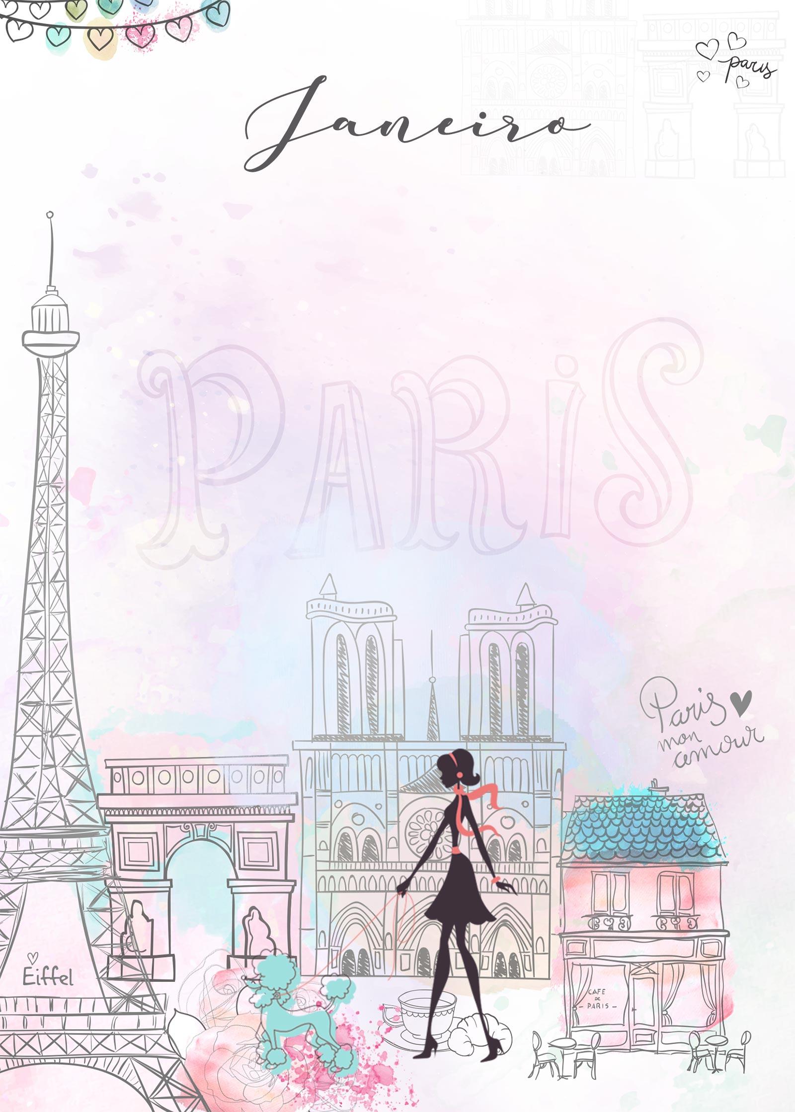 Planner Paris capa janeiro
