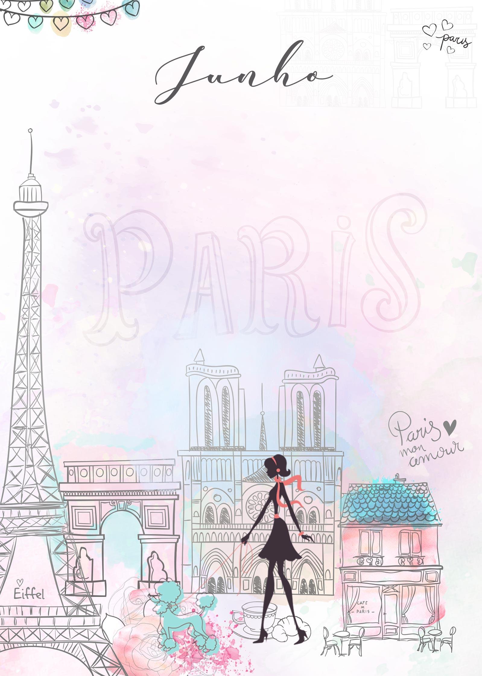 Planner Paris capa junho