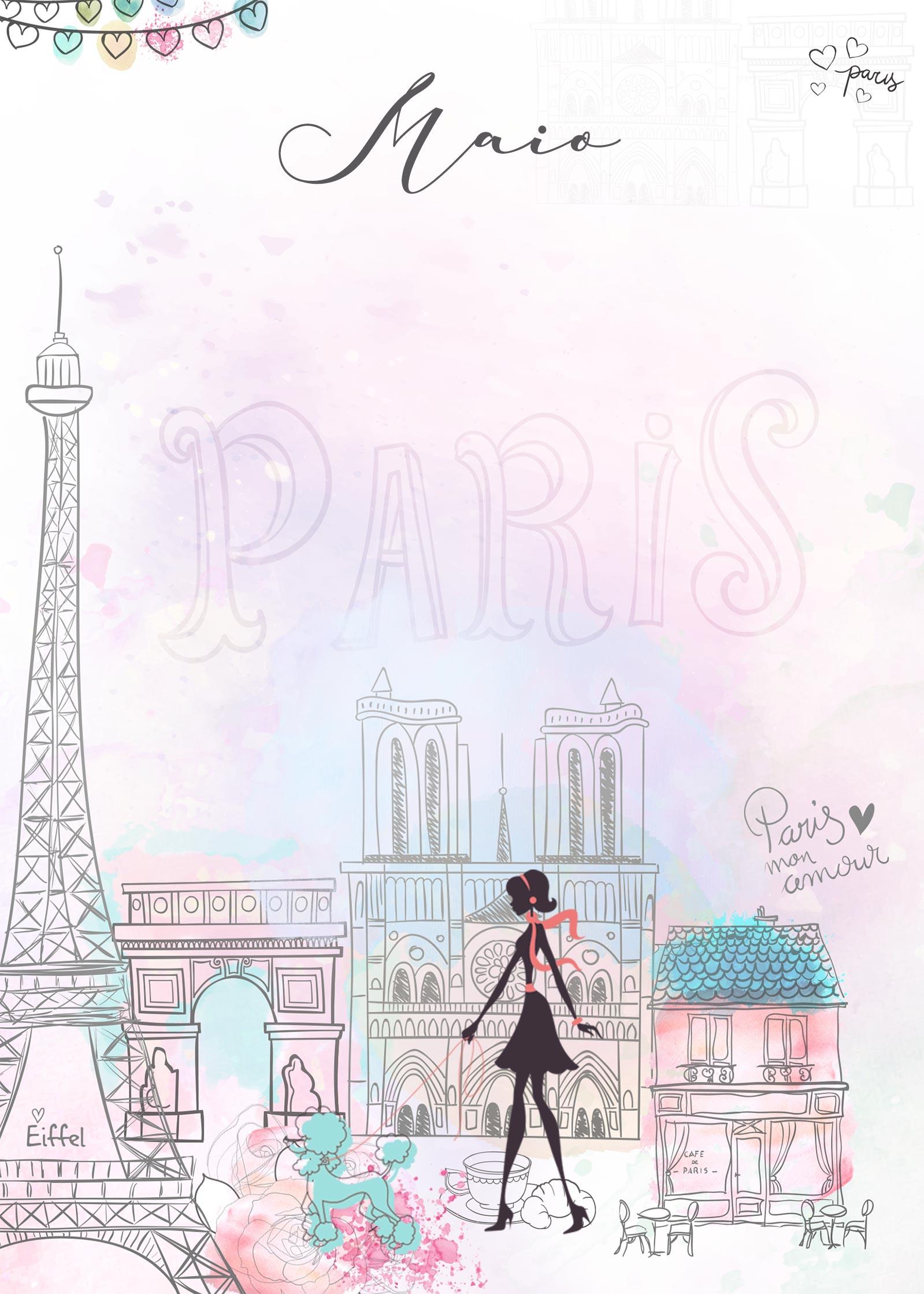 Planner Paris capa maio