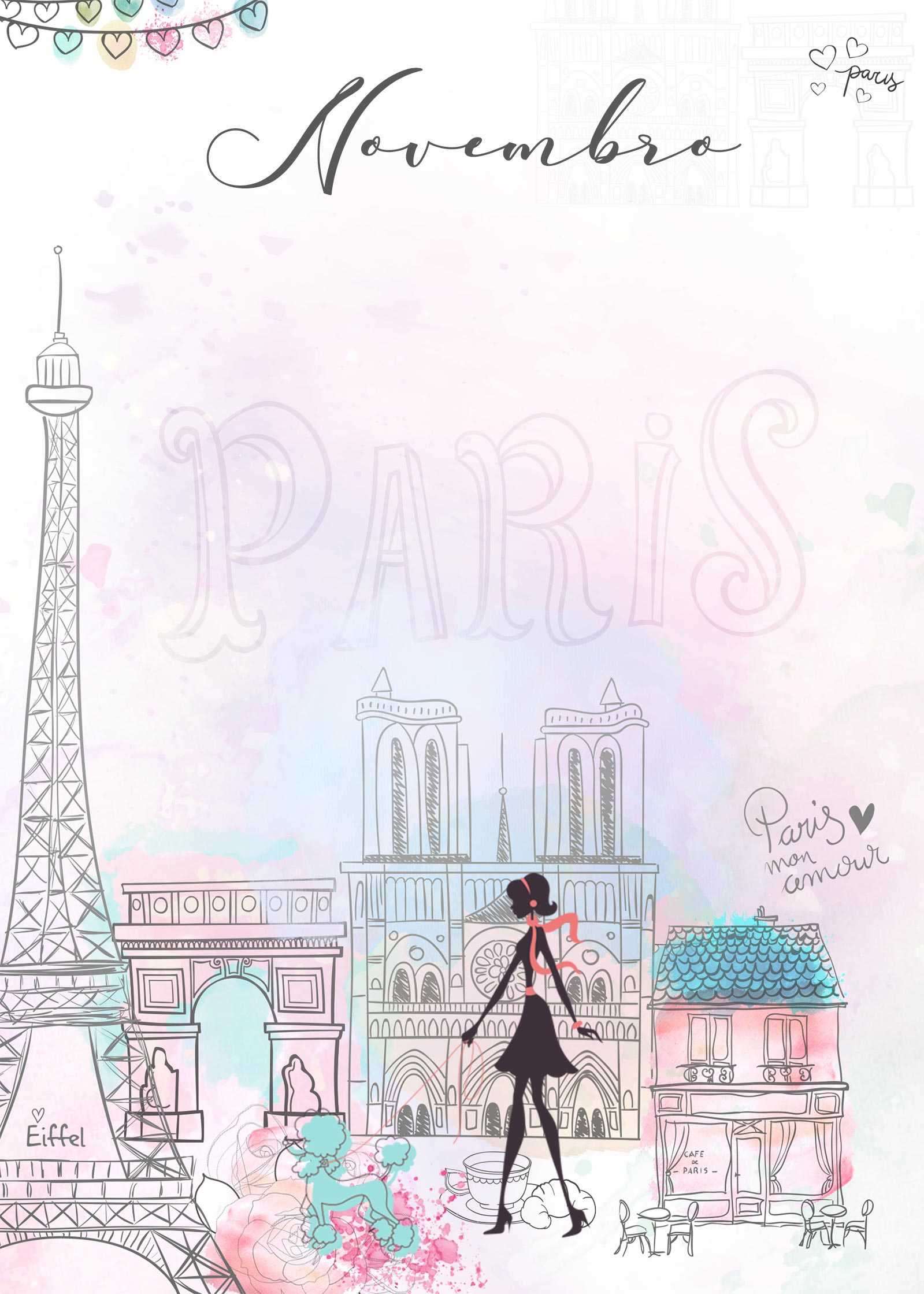 Planner Paris capa novembro
