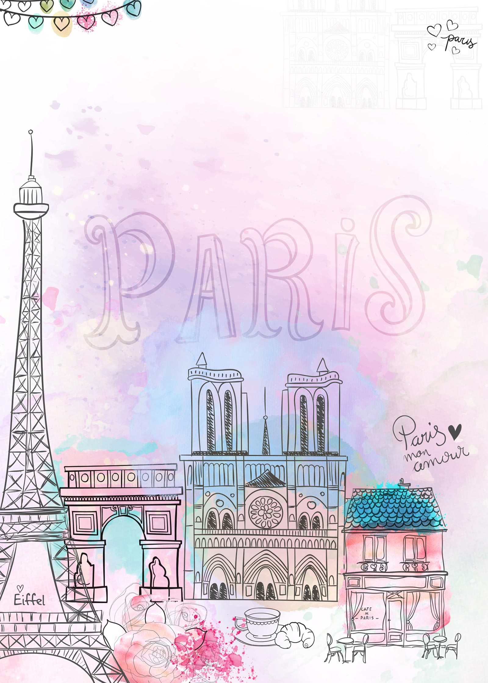 Planner Paris contracapa