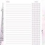 Planner Paris filmes