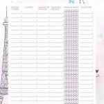 Planner Paris parcelamentos