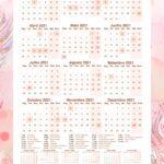 Planner Raposinha Calendario 2021