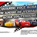 Plaquinhas para fotos Carros 3 Disney 6