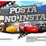 Plaquinhas para fotos Carros 3 Disney 3