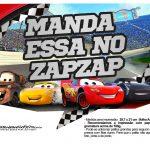 Plaquinhas para fotos Carros 3 Disney 2