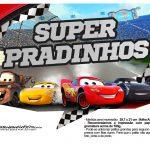 Plaquinhas para fotos Carros 3 Disney 1
