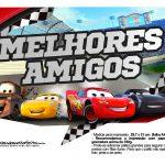 Plaquinhas para fotos Carros 3 Disney 5