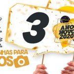 Plaquinhas Festa Ano Novo 2020 para Imprimir