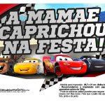 Plaquinhas divertidas Carros 3 6