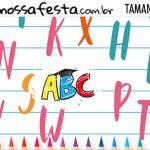 Rotulo Kit Festa Formatura ABC