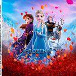 Adesivo Caixa Acrilica Kit Festa Frozen 2