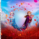 Adesivo Quadrado Frozen 2