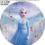 Adesivo copo de acrilico Kit Festa Frozen 2