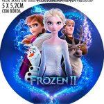 Adesivo ioio Kit Festa Frozen 2
