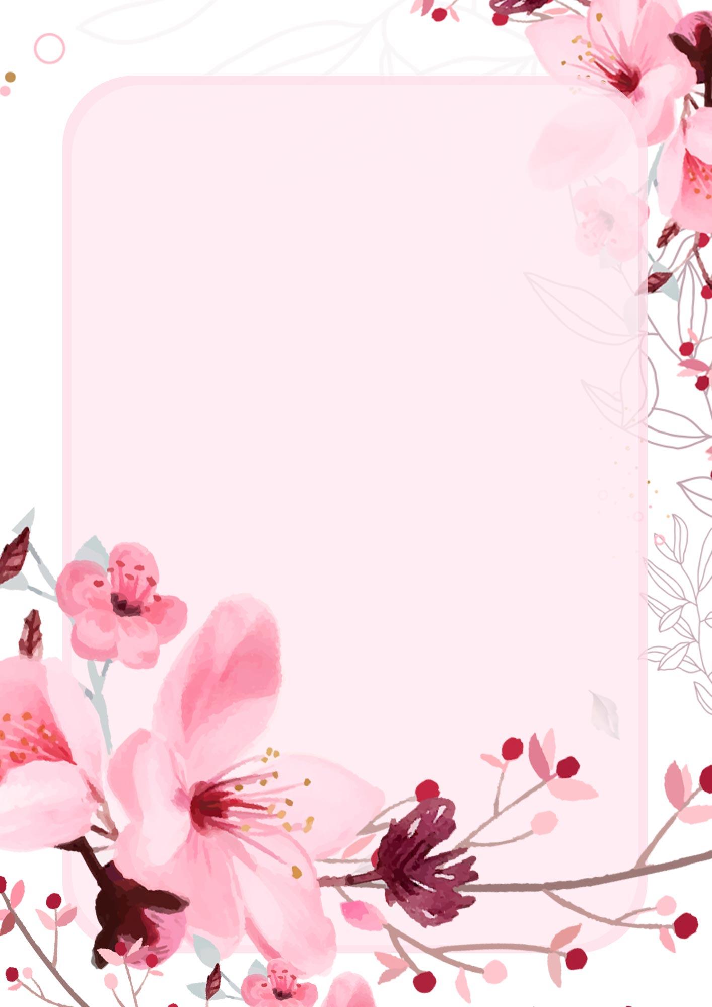 Adesivo para Capa de Caderno Escolar Floral