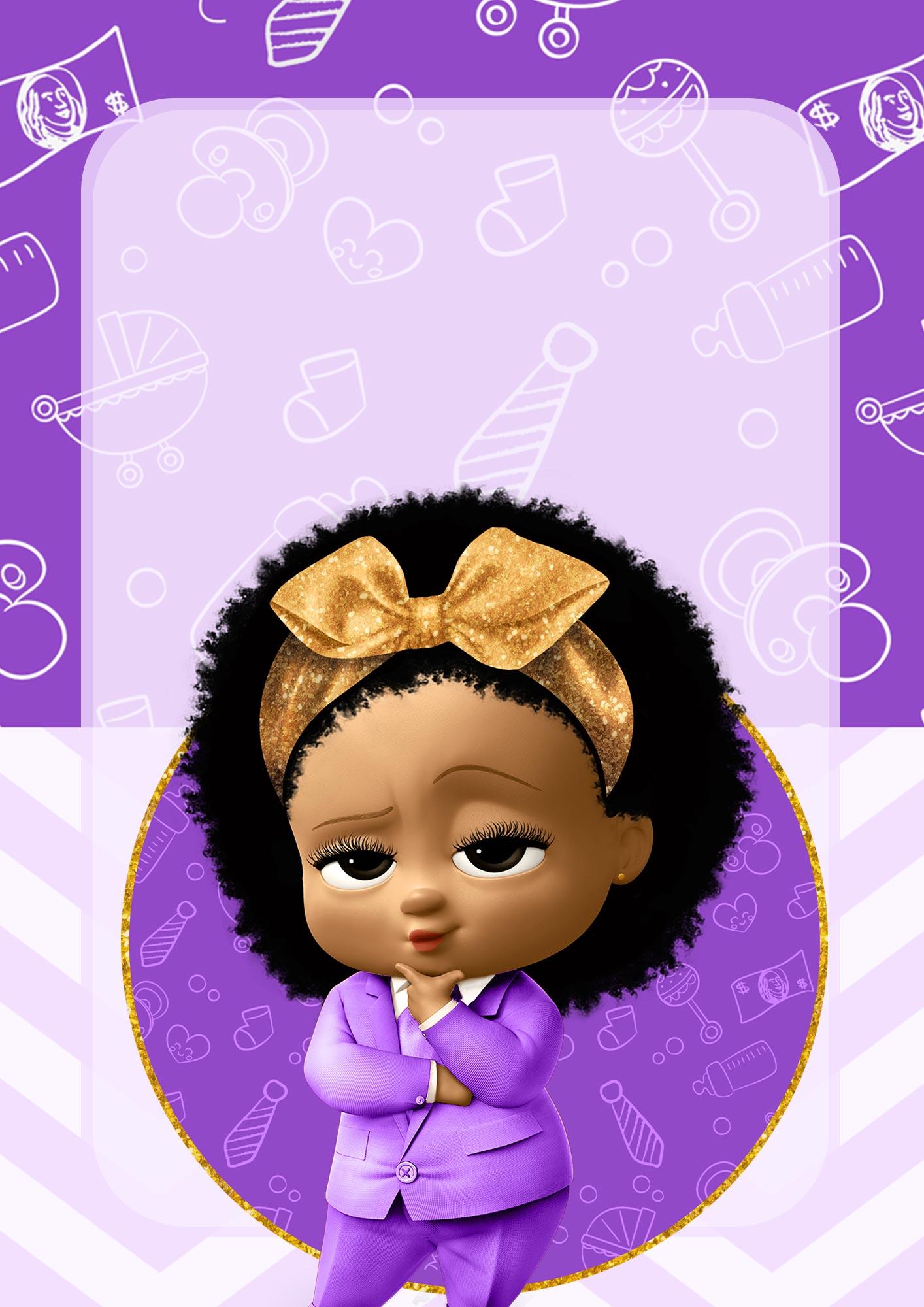 Adesivo para Capa de Caderno Poderosa Chefinha afro