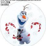 Adesivo para garrafinha Frozen 2