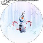 Adesivo para latinhas Frozen 2