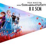 Bandeirinha Sanduiche para imprimir Frozen 2