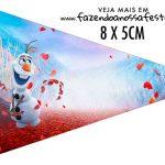 Bandeirinha Sanduiche personalizado Frozen 2