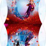 Caixa Almofada bolsinha Frozen 2
