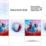 Caixa Kit Colorir Kit Festa Frozen 2