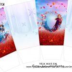 Caixa Pipoca Frozen 2