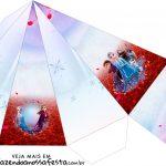 Caixa Piramide Frozen 2