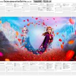 Calendario 2020 Kit festa Frozen 2