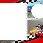 Convite Festa Carros 3 da Disney