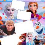 Convite Gibi Frozen 2