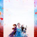 Convite Personalizado Frozen 2