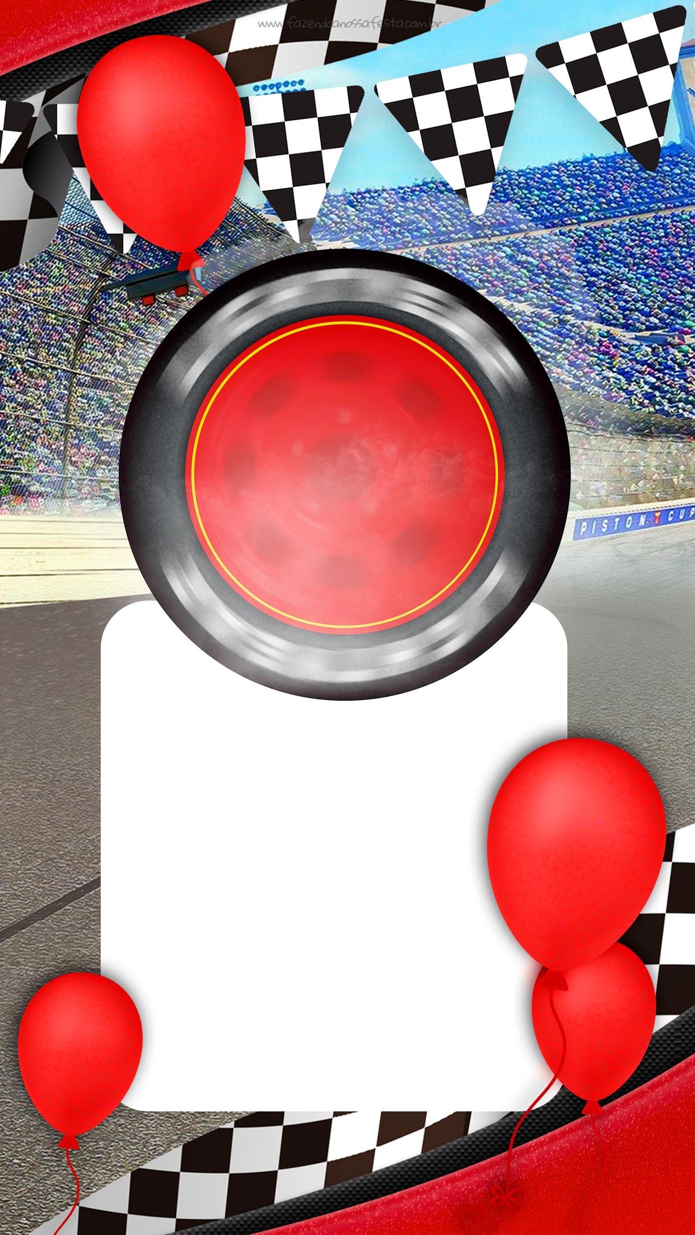 Convite Virtual Carros 3