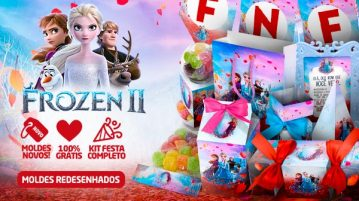 Kit Festa Frozen 2