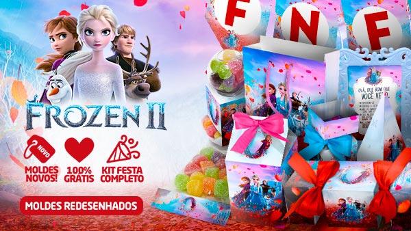 Kit Festa Frozen 2