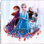 Molde Caixa Acrilica Frozen 2