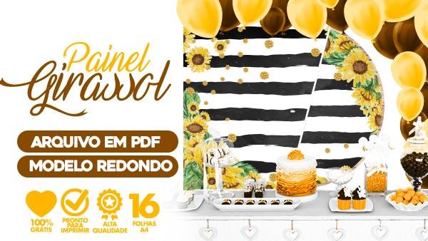 Painel Festa Girassol