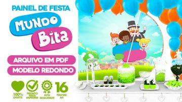 Painel Festa Mundo Bita