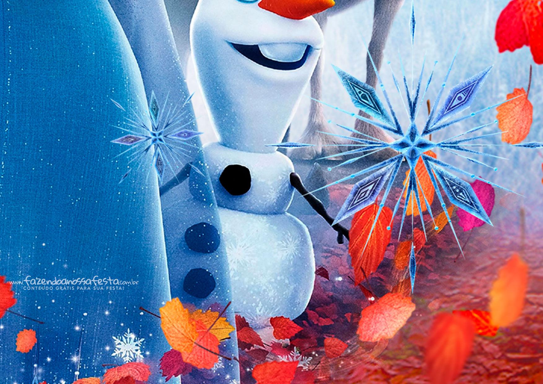 Painel Frozen 2 11