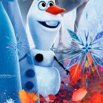 Painel Redondo Frozen 2 11