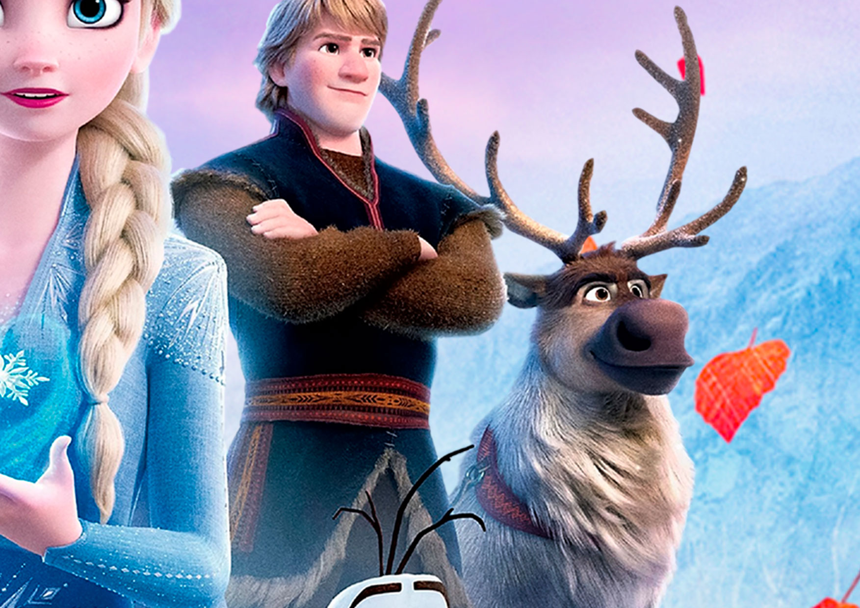 Painel Redondo Frozen 2 7