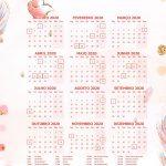 Planner Professor 2020 Raposinha para Imprimir Calendario Professor