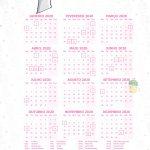 Planner Professor Lhama 2020 Calendario Professor