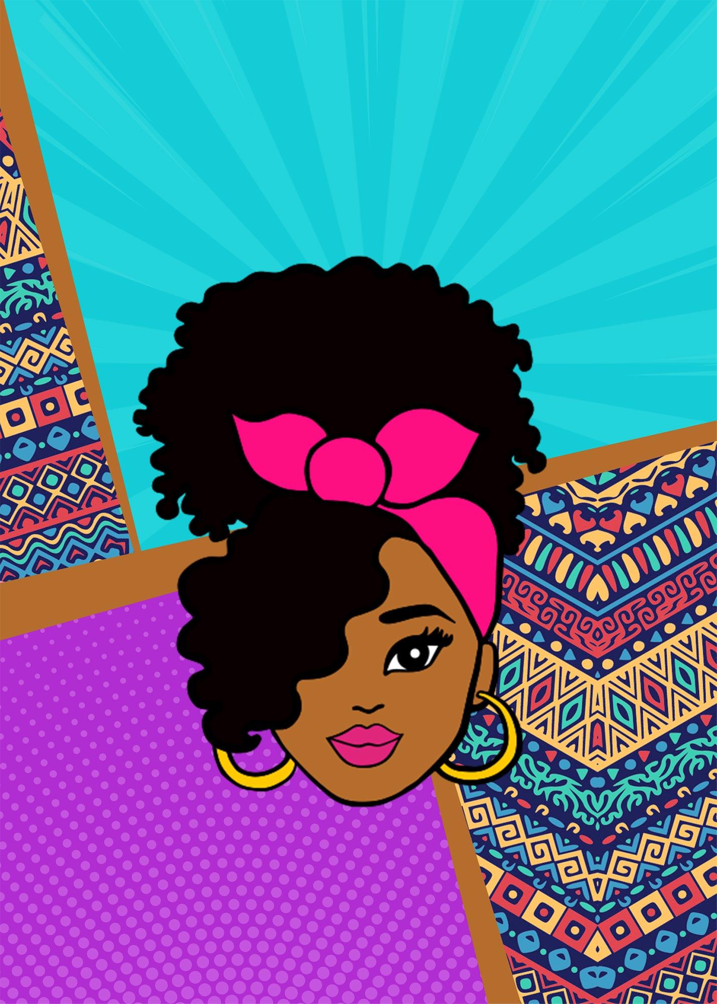 Planner Professor Mulher Afro Capa Caderno Planejamento