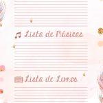 Planner Professor Raposinha Lista de Filmes Musicas Livros
