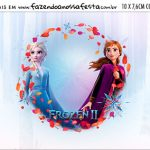 Plaquinha de Comida Frozen 2