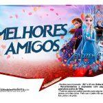 Plaquinhas Festa Frozen 2 6