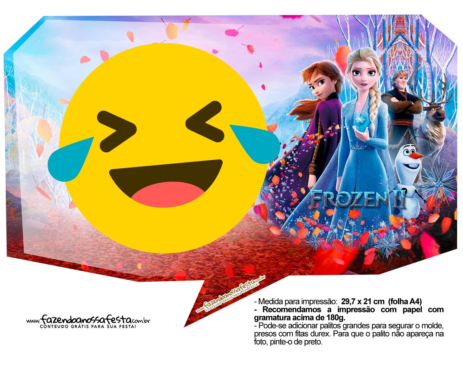 Plaquinhas Frozen 2 27